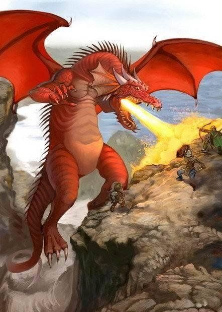 Цветные драконы