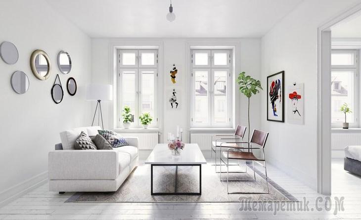 7 способов заполнить квартиру естественным светом
