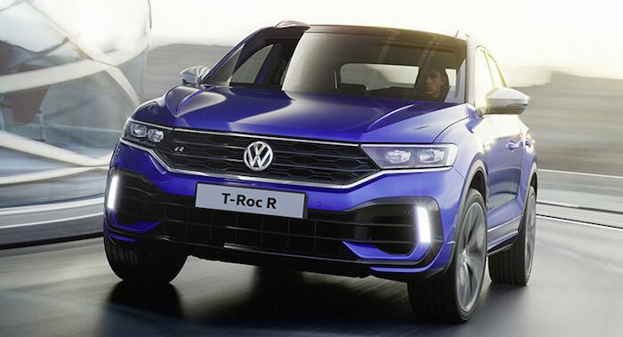 Volkswagen назвал стоимость кроссовера T-Roc R