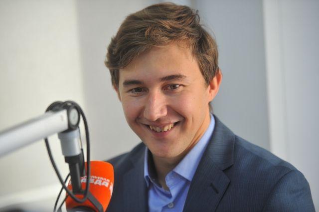 Шахматист Сергей Карякин награжден премией «Серебряная лань»