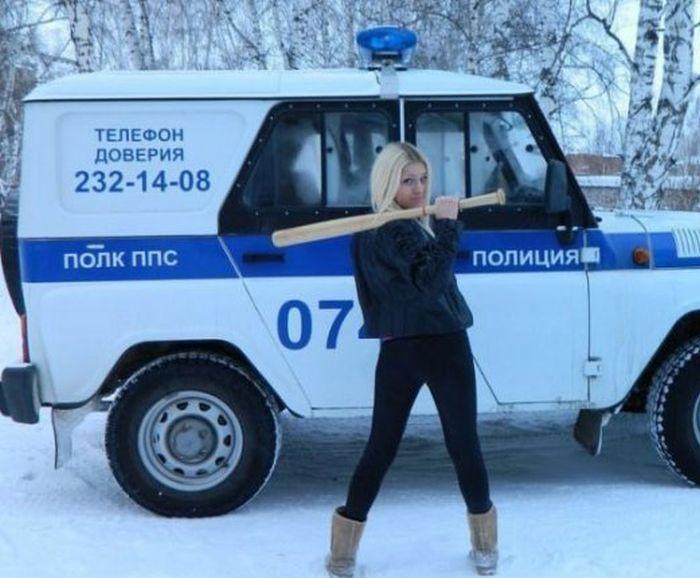 Приключения бейсбольной биты в России