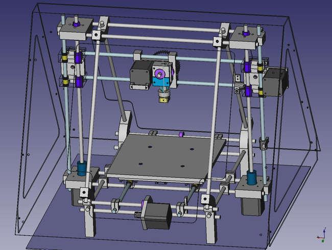 Как сделать 3d принтер