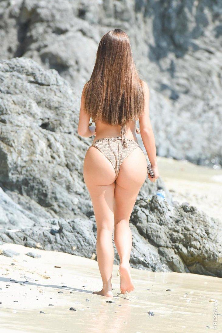Деми Роуз на пляже в Пхукете