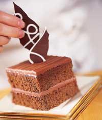 Шоколадные украшения. часть 2