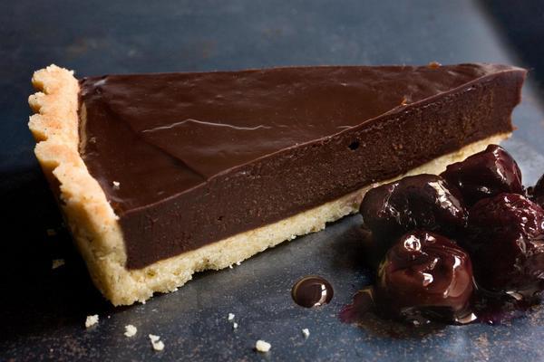 Классический шоколадный тарт