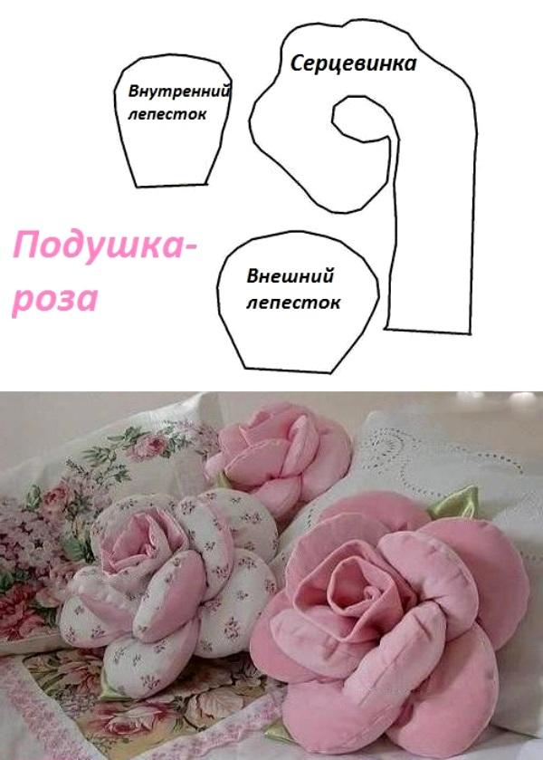 Как сшить подушки своими руками выкройки фото 10