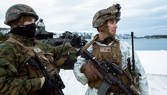СМИ узнали, что американские морпехи замерзли на учениях у границ России