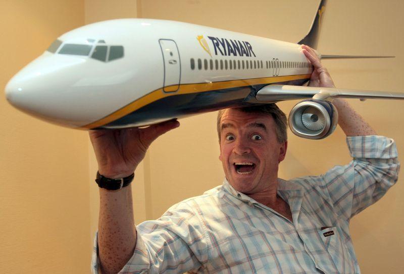 Глава Ryanair прогнозирует появление бесплатных авиарейсов