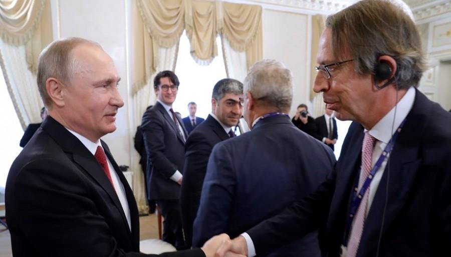 Путин на ПМЭФ: русофобия, славный парень Трамп, русские хакеры и другие ответы