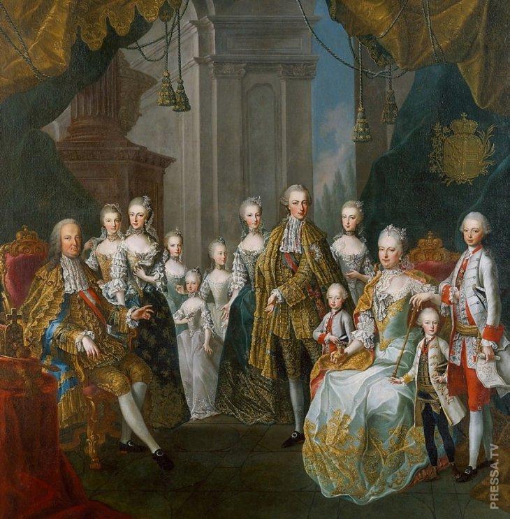 Семья Габсбургов