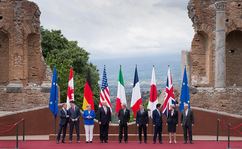 G-7: Москву осудят под шумок разговоров о климате