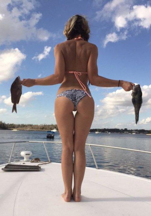 Страстные рыбачки (25 фото)