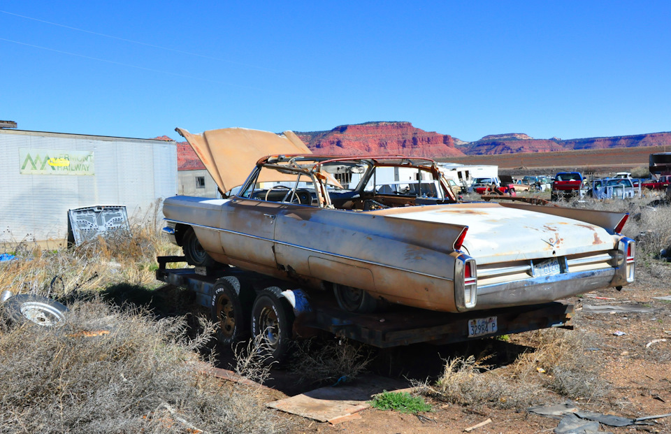 У пропасти во рже: автомобильная свалка по-американски