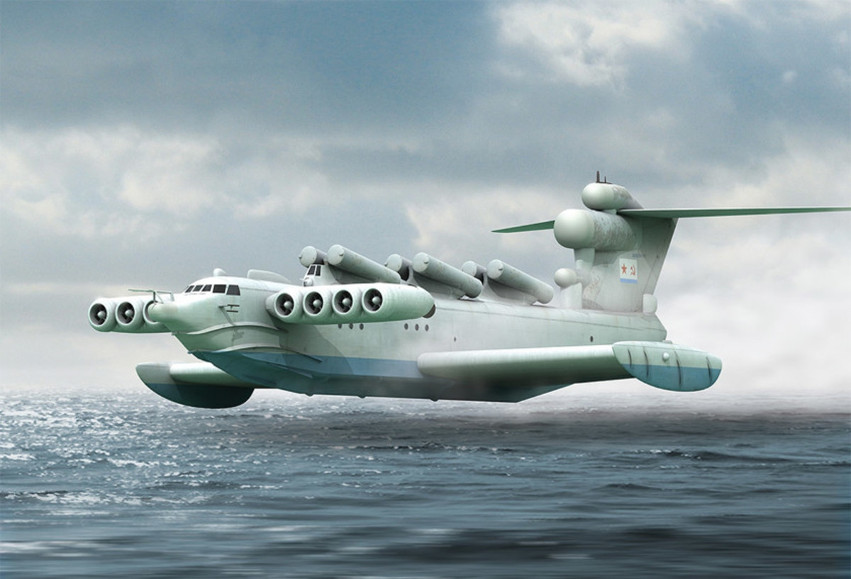 Он создал «Каспийского монстра» и научил корабли летать