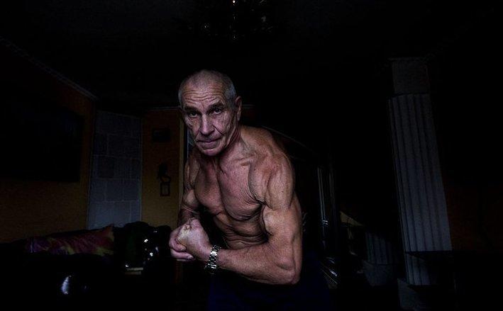70-летний бодибилдер решил не стареть