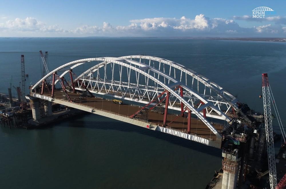 Укросми: Керченский мост рухнет зимой