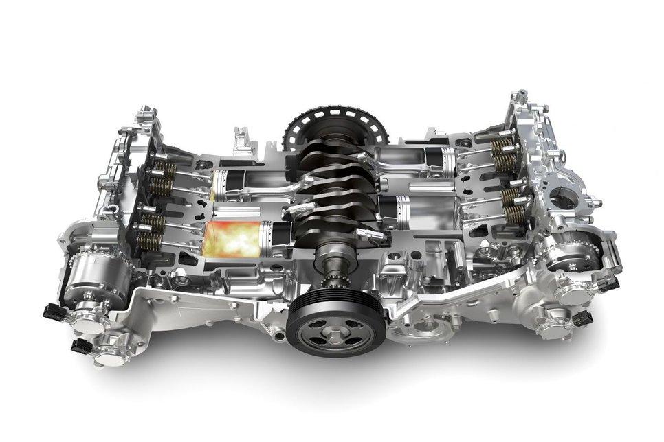Оппозитные моторы. Мифы и реальность