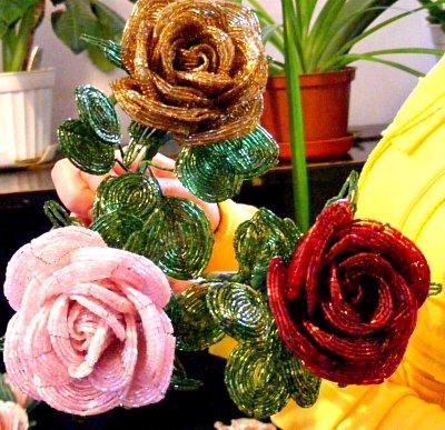 Розы из рубки.