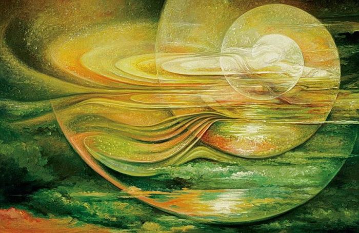 Медитация, космическое единство и мистицизм: образы и сюжеты, вырвавшиеся из самых глубин подсознания .