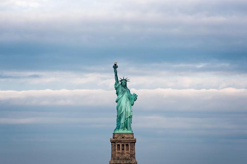 Статуя Свободы, Нью-Йорк Северная Америка, путешествие, фотография