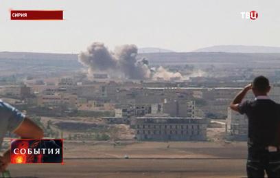 Курды встали на защиту города Кобани на границе с Сирией
