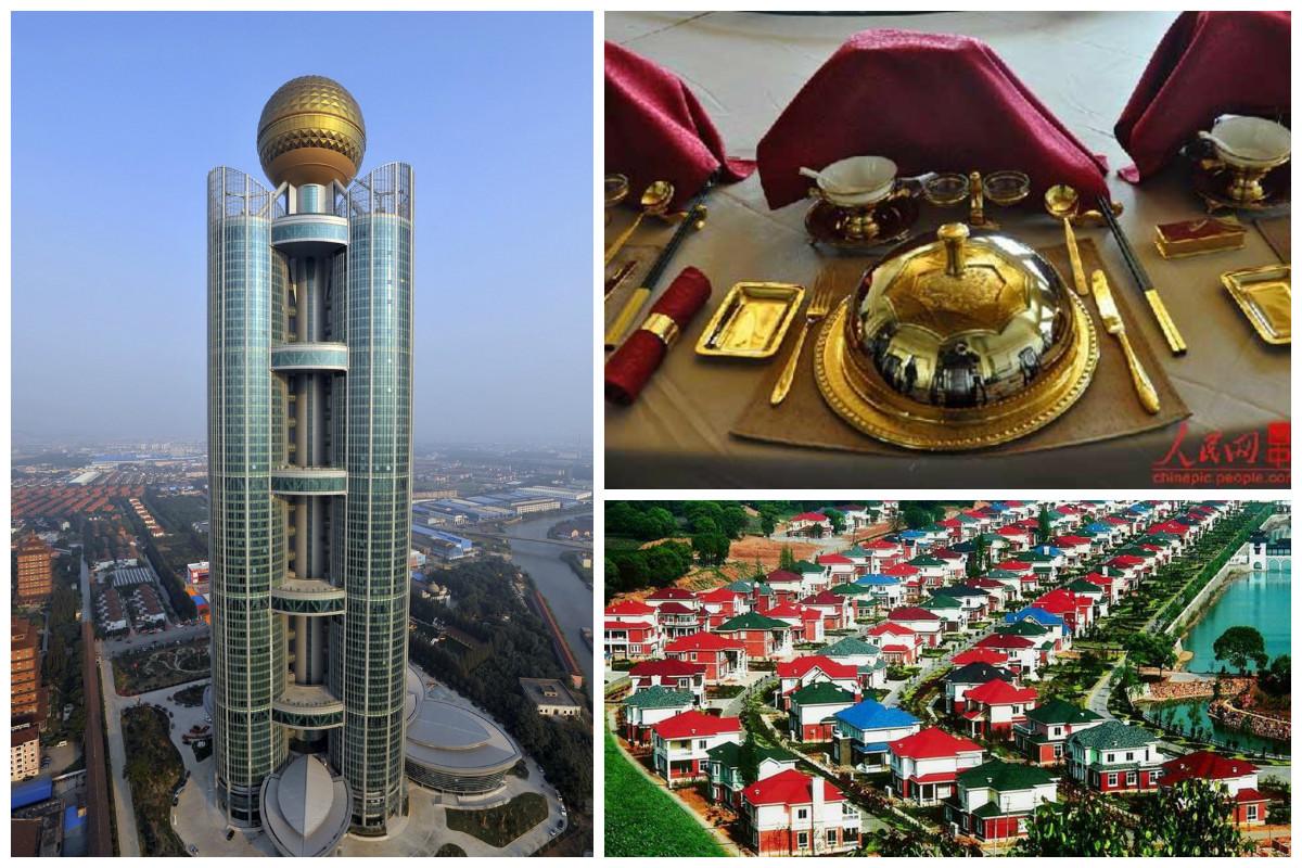 Коммунизм наяву: китайская деревня, в которой каждый житель - миллионер (18 фото + 1 видео)