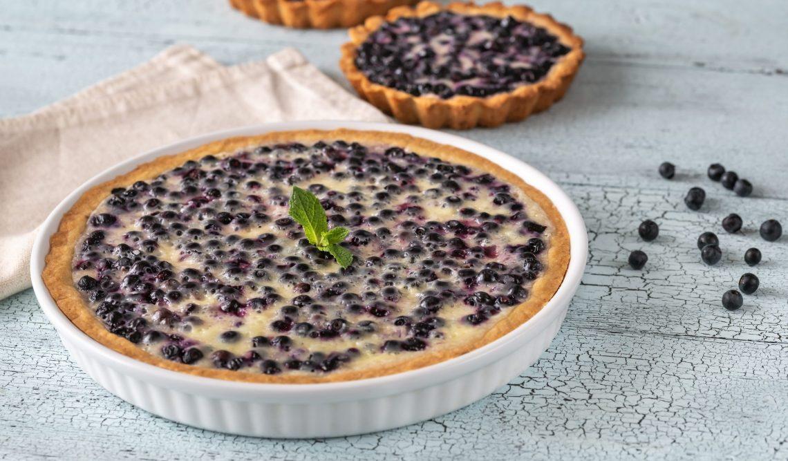 Нежнейший финский пирог с черникой