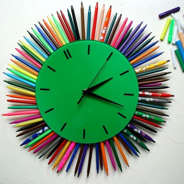 Оригинальный декор часов