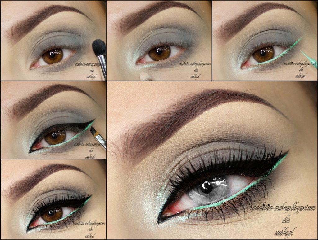 194Макияж подчеркивающий серых глазах
