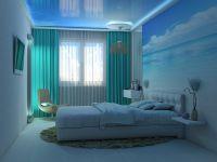 Голубой потолок 10