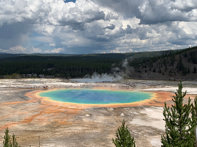 Postcard from Yellowstone National Park