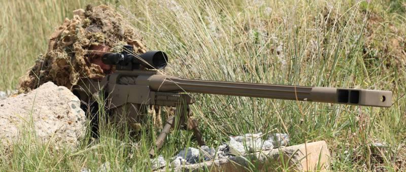 Крупнокалиберная снайперская…