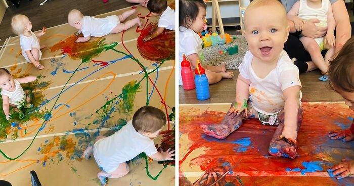 Как в Австралии приобщают маленьких детей к творчеству