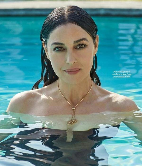 Новая горячая фотосессия Моники Беллуччи, от которой сердце начинает биться чаще...