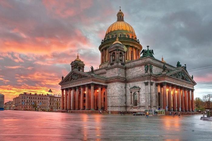 Исаакиевский собор в Санкт-Петербурге. Часть 1