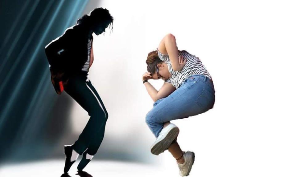 2. Танцы с Майклом Джексоном.