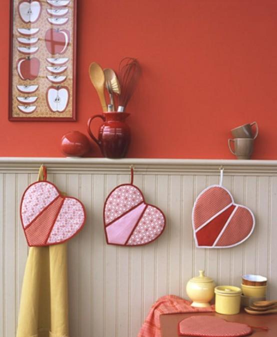 Своими руками сделать украшение для кухни