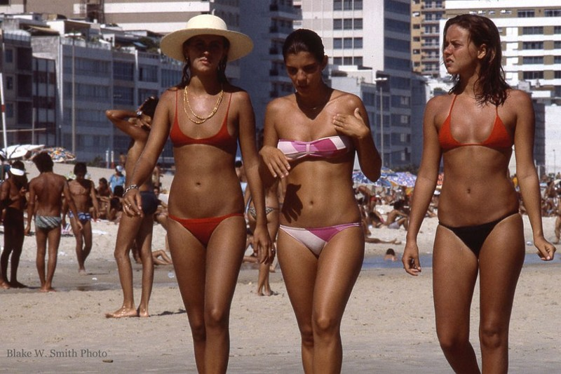 Что творилось на бразильских пляжах конца 70-х