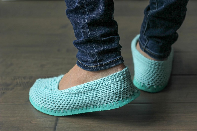 Легко и оригинально! Подошва от вьетнамок превращается в летнюю обувь