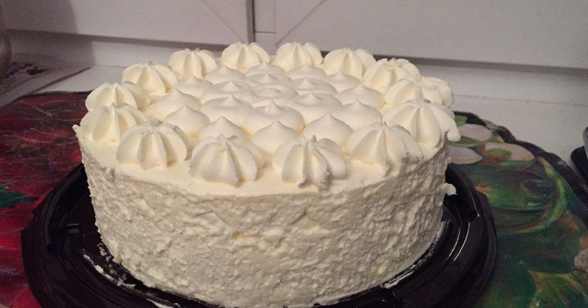 Пломбирный торт