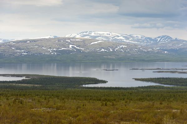 Умбозеро глубокое озеро, природа, факты