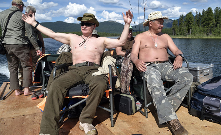 Bloomberg: Почему  Путин смеется последним