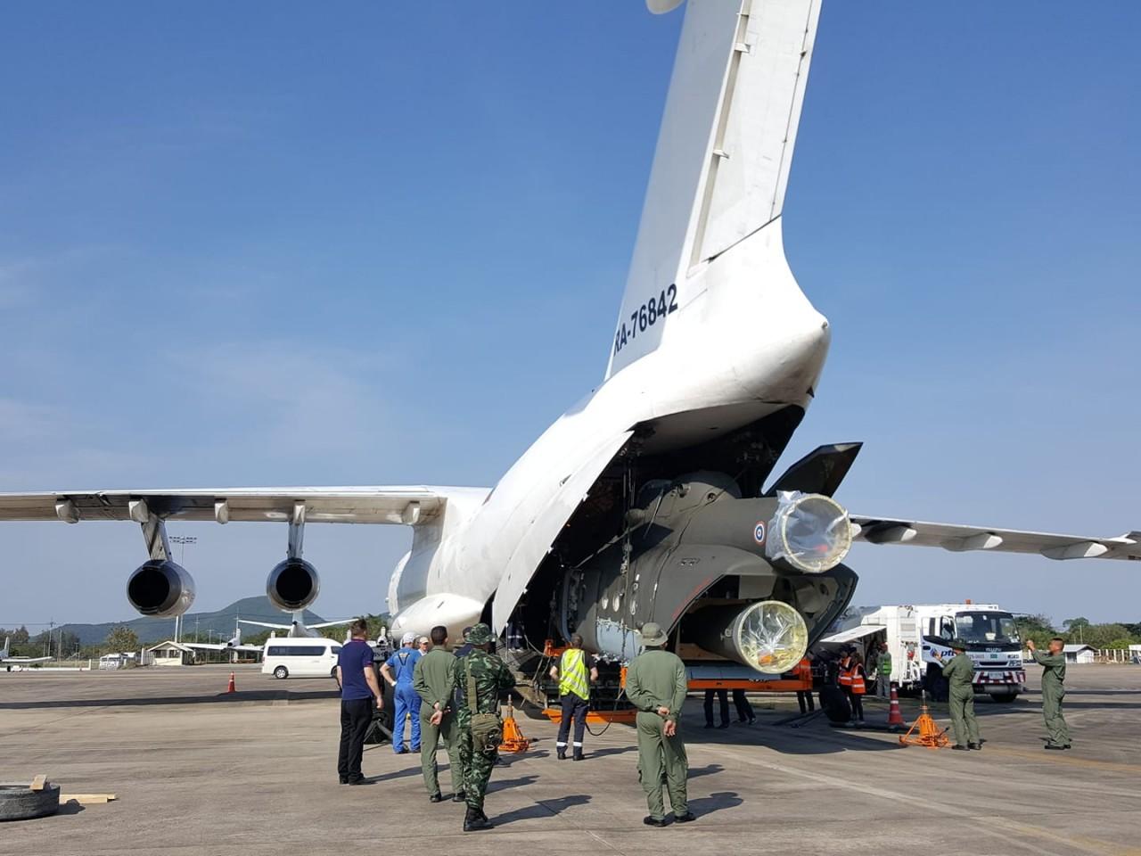 Армейская авиация Таиланда получила два вертолета Ми-17В-5