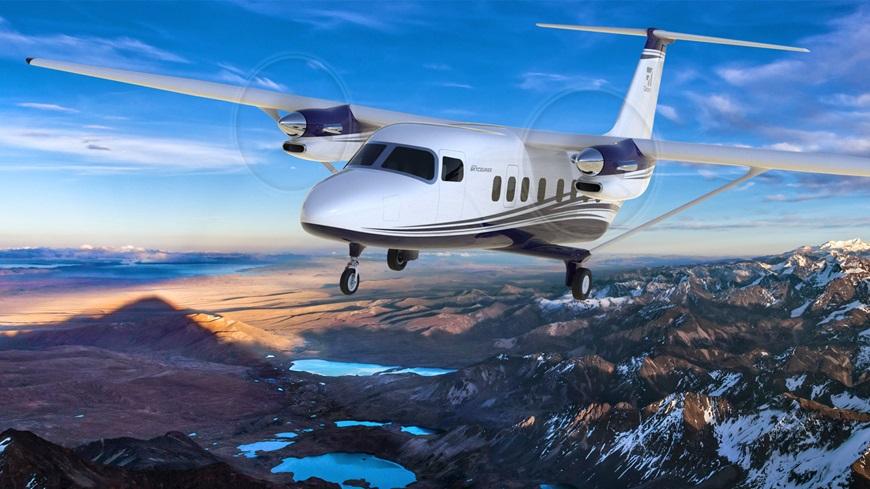Cessna создает 19-местный двухдвигательный турбовинтовой самолет