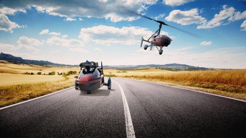 Первый в мире серийный летающий автомобиль доступен для предзаказа PAL-V, вертолет, летающий автомобиль