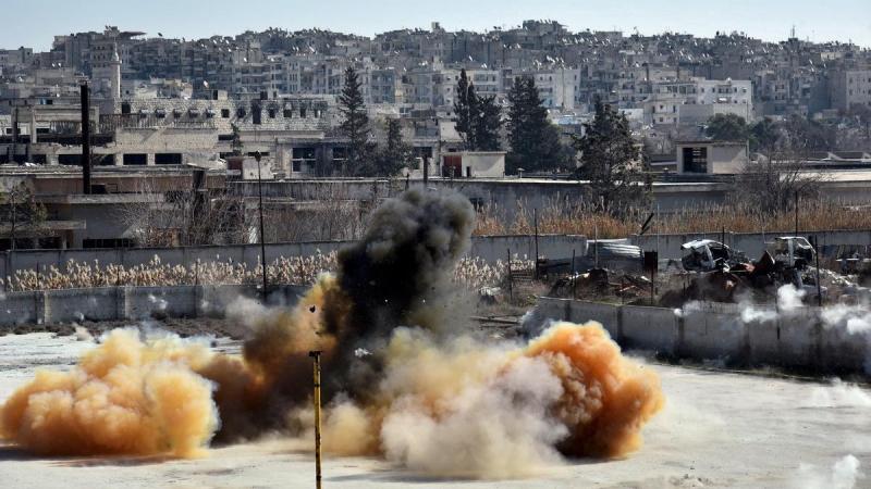 Сирийская армия взорвала тоннель с боевиками ИГ в Дейр-эз-Зоре