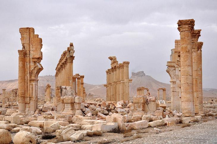 Что осталось от древней Пальмиры