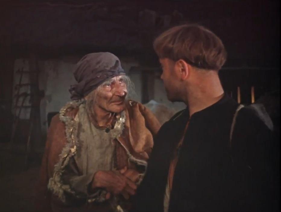 Добрая старушка и ее юный любовник - 2.  Продолжение.
