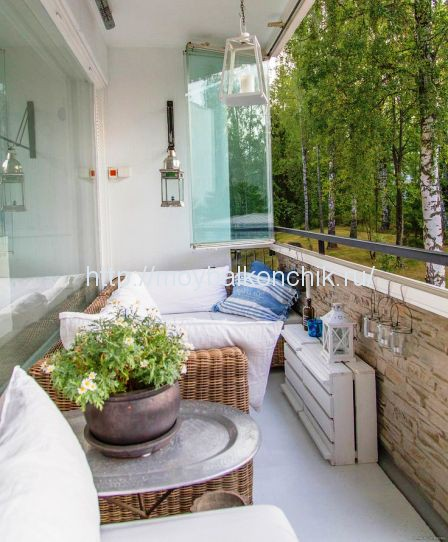 Как красиво оформить балкон или лоджию