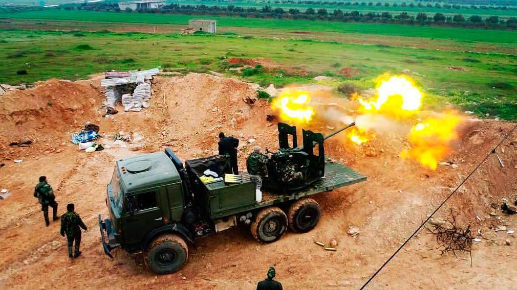 Террористы ИГ под натиском САА и ВКС РФ несут колоссальные потери в провинции Хама